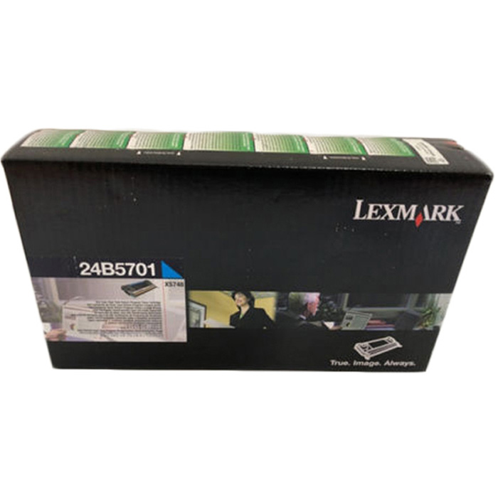 Original Lexmark 24B5701 Cyan High Capacity Toner Cartridge (24B5701)