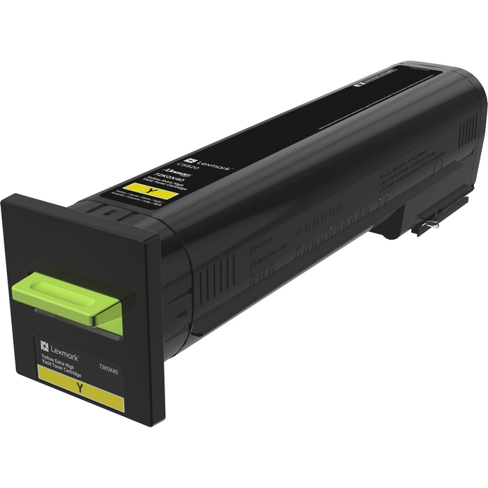 Original Lexmark Cs820 Yellow Extra High Yield Toner (72K0X40)