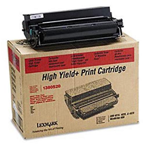 Original Lexmark 1380520 Black Toner Cartridge (1380520)