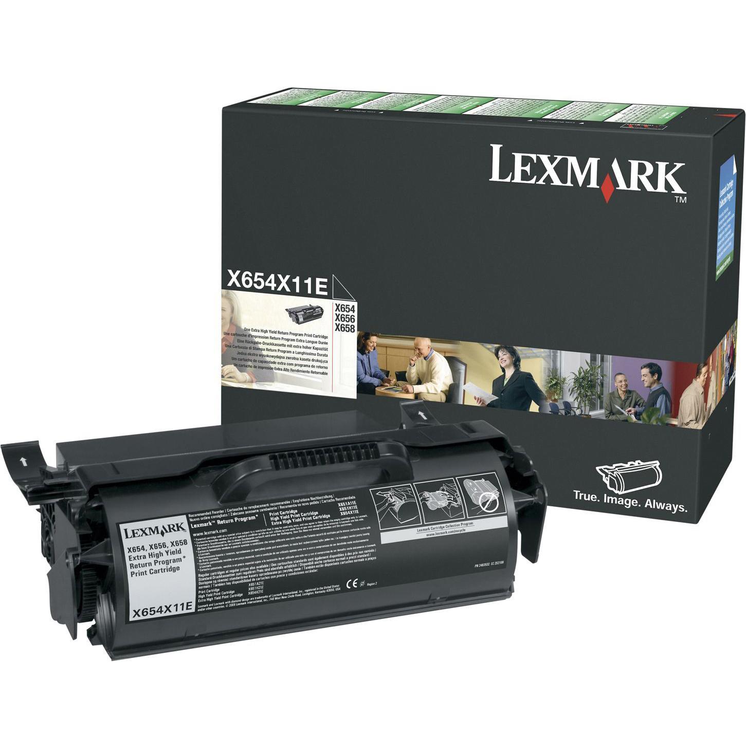 Original Lexmark Lex X654/656/658 Xhy Ret Prog Print (0X654X11E)