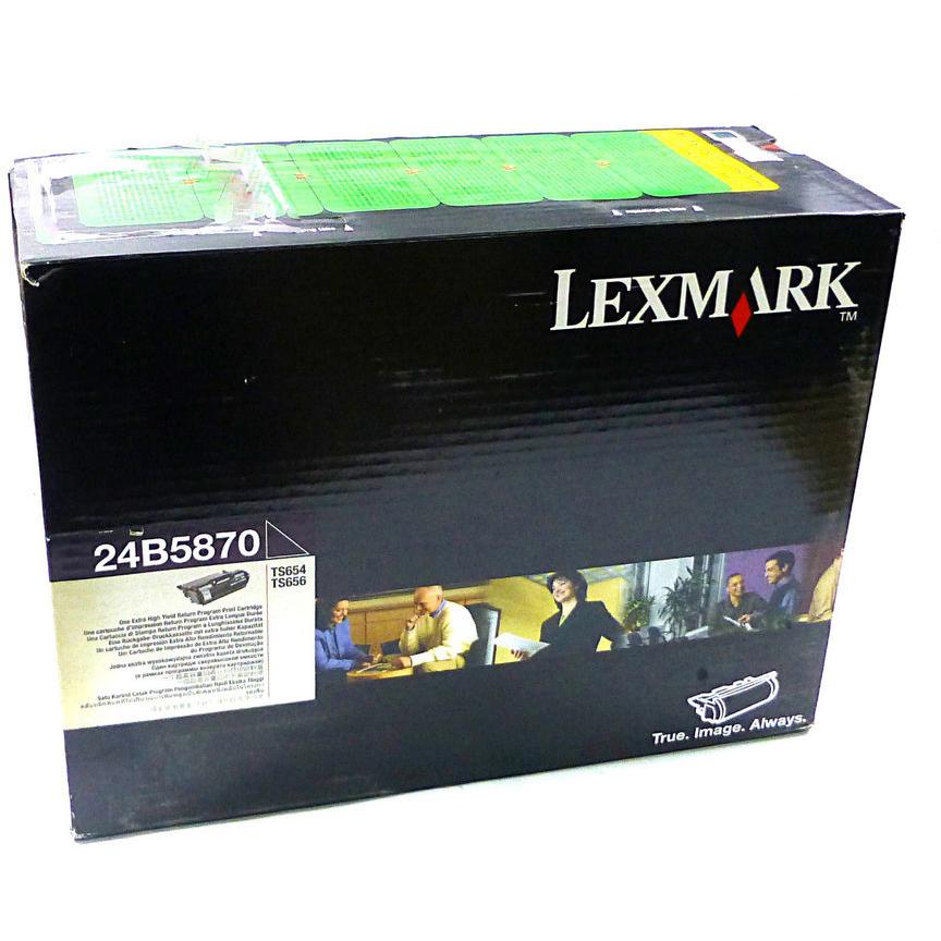 Original Lexmark 24B5870 Black Toner Cartridge (24B5870)