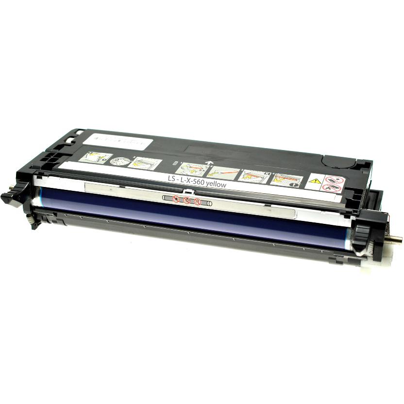 Original Lexmark X560H2YG Yellow High Capacity Toner Cartridge (0X560H2YG)