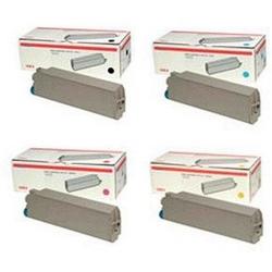 Original OKI 44059256 / 440592 CMYK Multipack Toner Cartridges (44059256 /44059255 /44059254 /44059253)