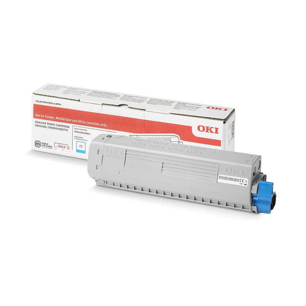 Original OKI 47095703 Cyan Toner Cartridge (47095703)