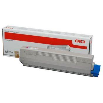Original Oki 46443102 Magenta High Capacity Toner Cartridge (46443102)