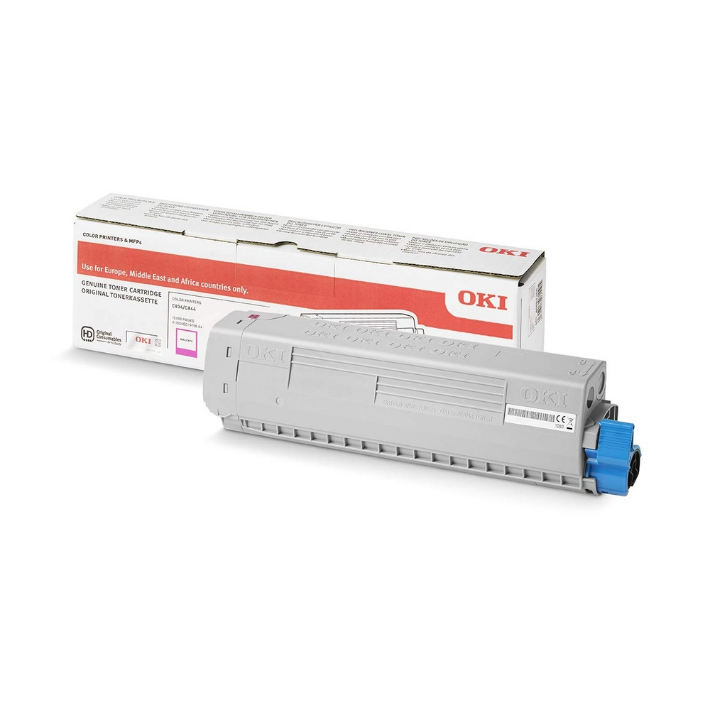 Original Oki 46861306 Magenta High Capacity Toner Cartridge (46861306)