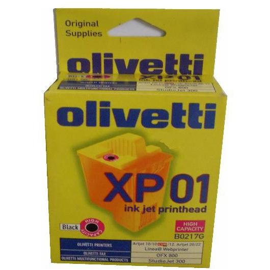 Original Olivetti B0217G Black Ink Cartridge  (B0217G)