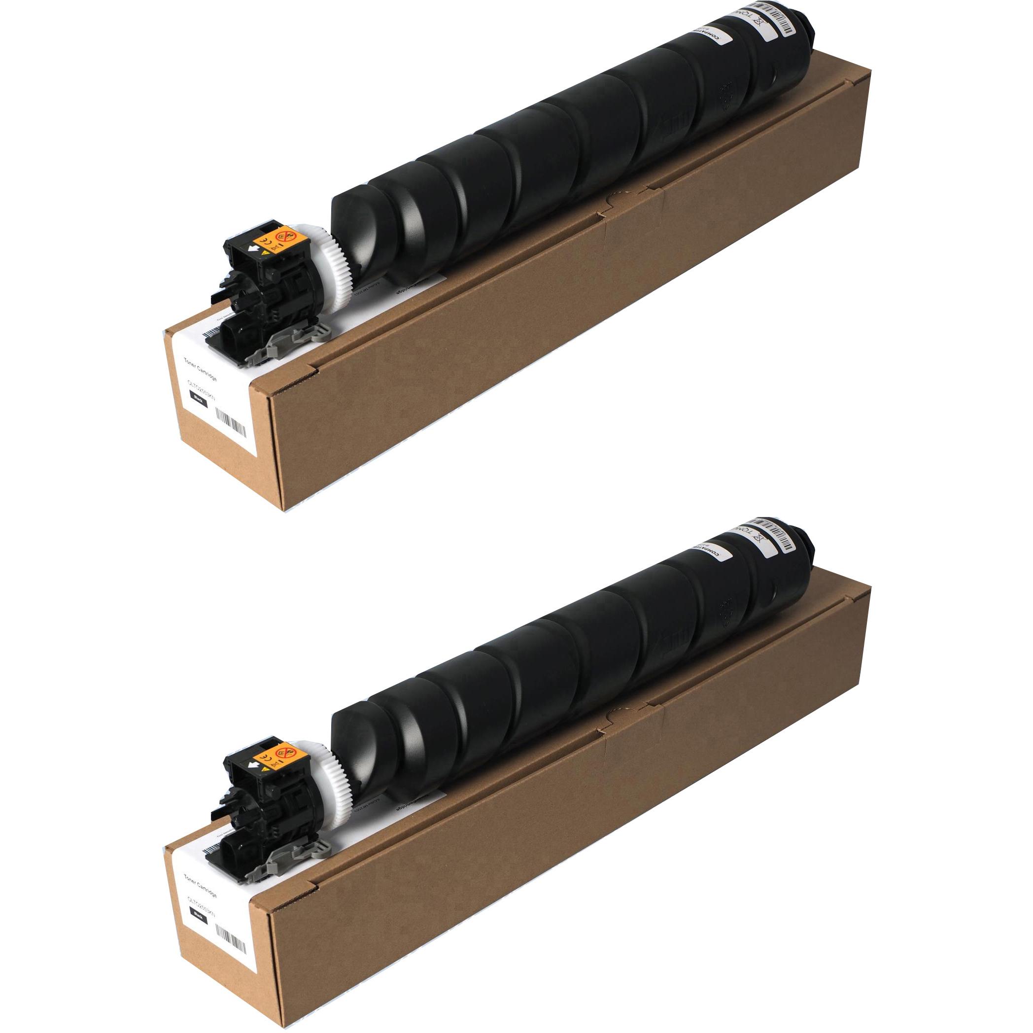 Original Olivetti B1249 Black Twin Pack Toner Cartridges (B1249)