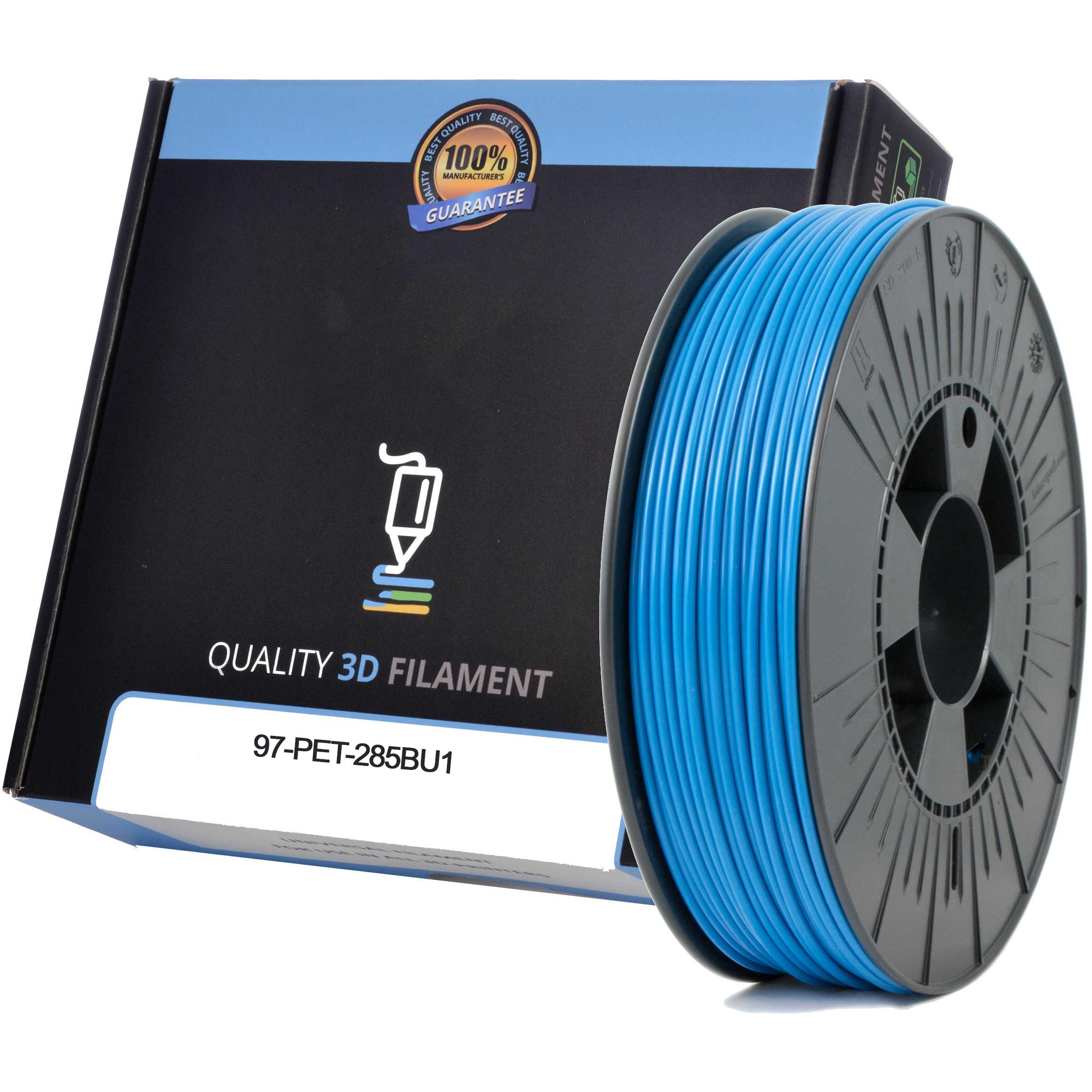Premium Compatible PETG 2.85mm Sky Blue 1kg 3D Filament (97-PET-285BU1)