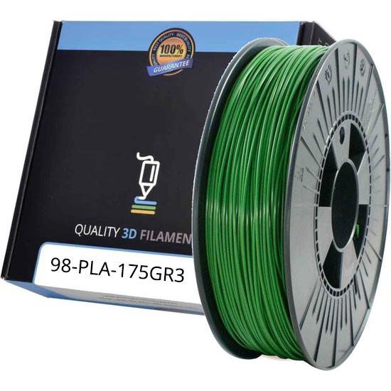 Premium Compatible PLA 1.75mm Leaf Green 1kg 3D Filament (PLA175GR3)