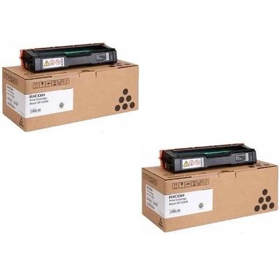 Original Ricoh 406765 Black Twin Pack Toner Cartridges (406052)