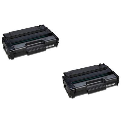 Original Ricoh 407648 Black Twin Pack High Capacity Toner Cartridges (406522)