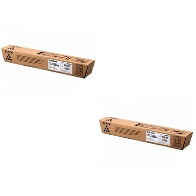 Original Ricoh 884201 Black Twin Pack High Capacity Toner Cartridges (821217)