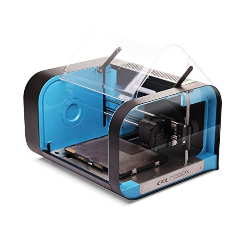 Original CEL Robox Desktop 3D Printer with QuickFill Single Material Head (RBX01-BK)