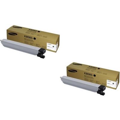 Original Samsung K808S Black Twin Pack Toner Cartridges (SS600A)