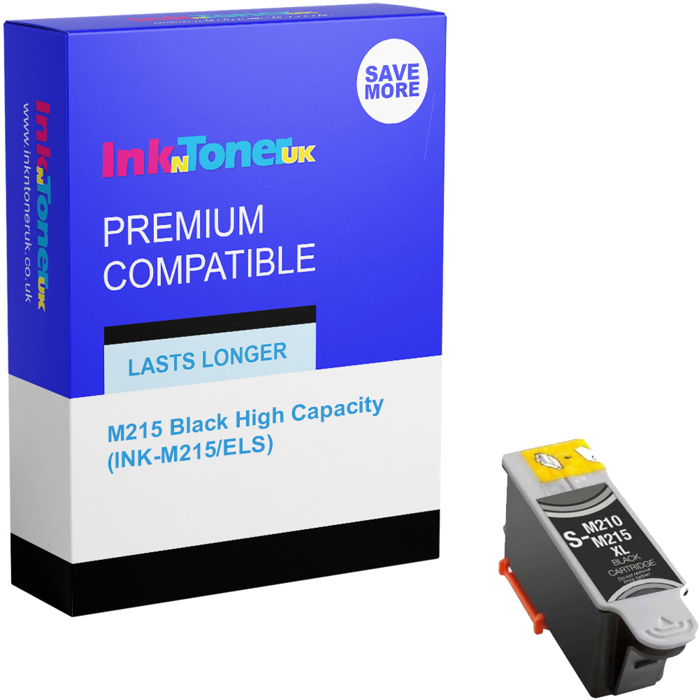 Premium Compatible Samsung M215 Black High Capacity Ink Cartridge (INK-M215/ELS)