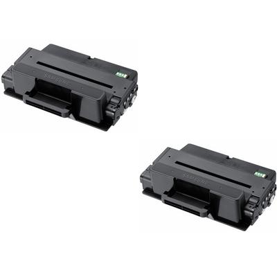 Original Samsung MLT-D304E Black Twin Pack Extra High Capacity Toner Cartridges (SV031A)
