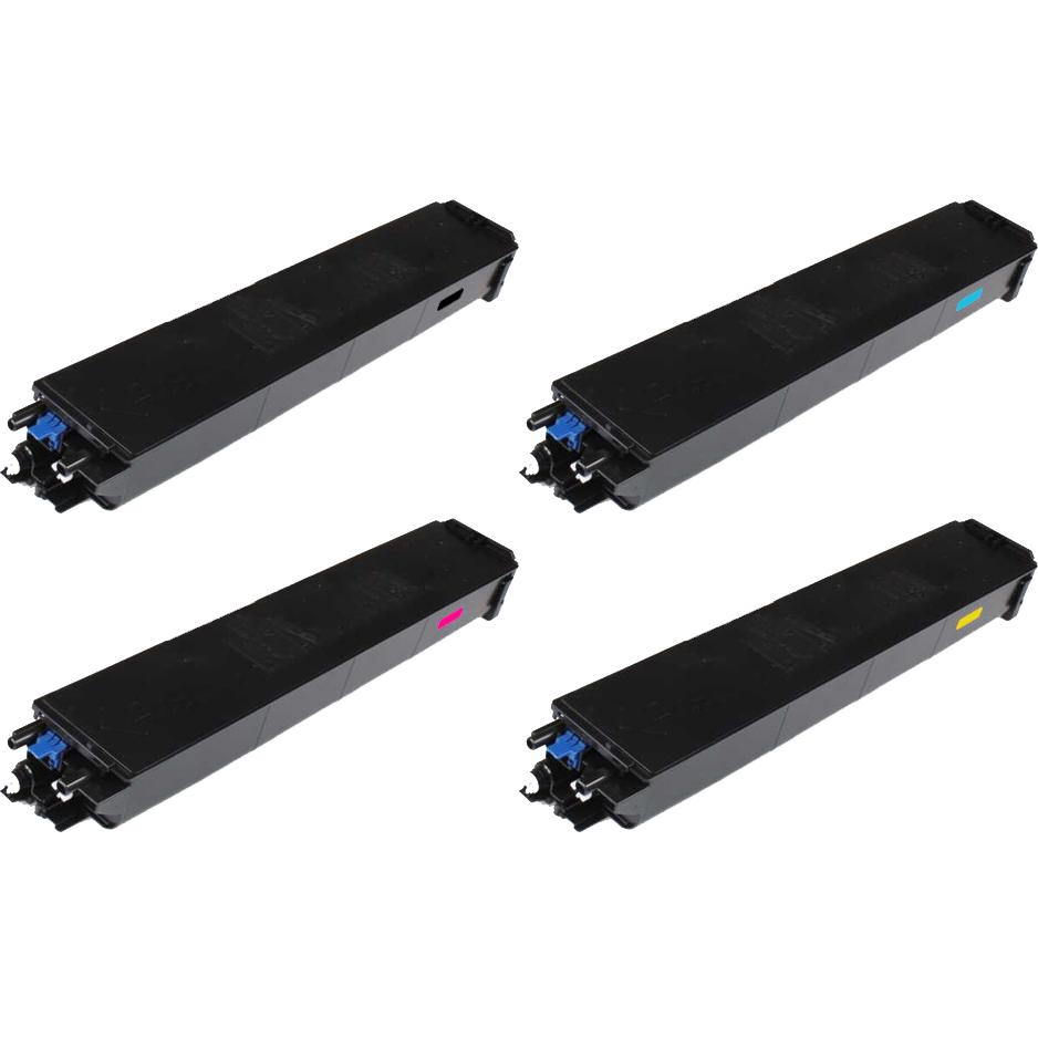 Original Sharp MX61GT CMYK Multipack Toner Cartridges (MX61GTB/ MX61GTC/ MX61GTM/ MX61GTY)
