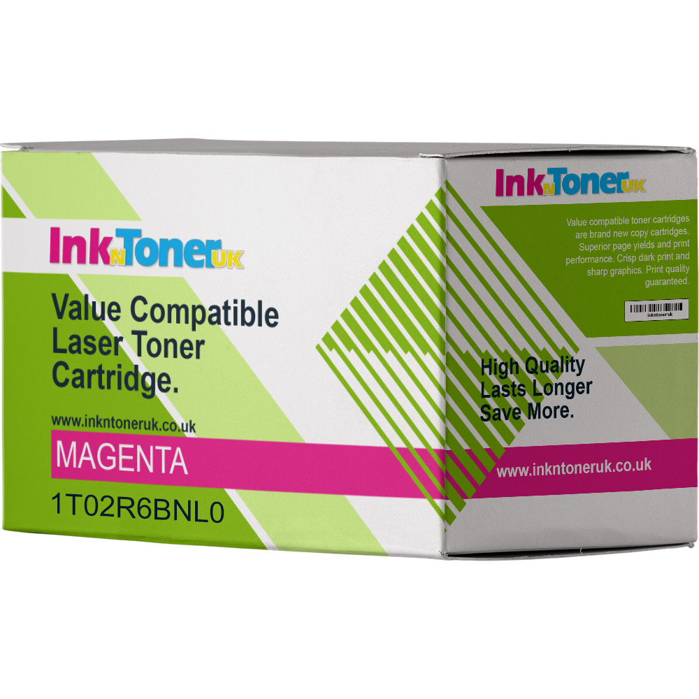 Value Compatible Kyocera TK-5215M Magenta Toner Cartridge (1T02R6BNL0)