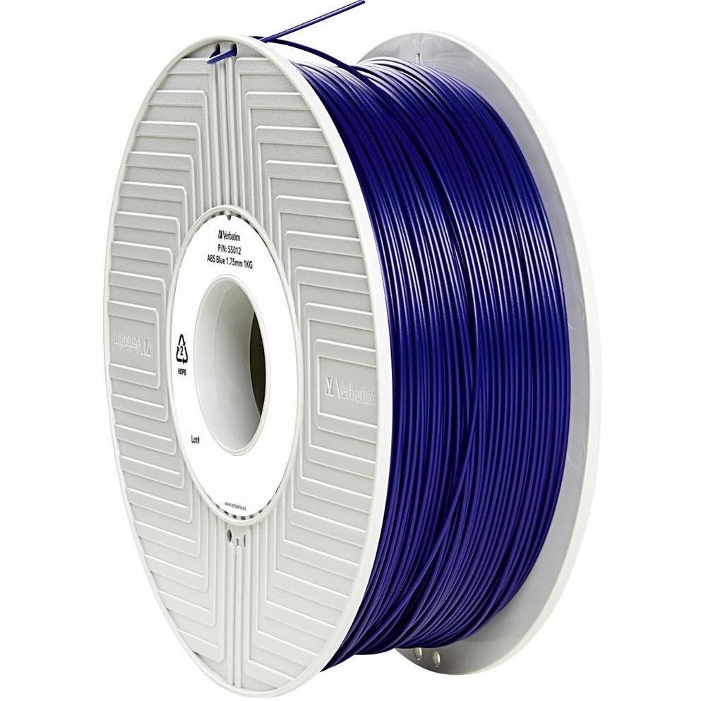 Original Verbatim Blue 1.75mm 1kg ABS 3D Filament (55012)