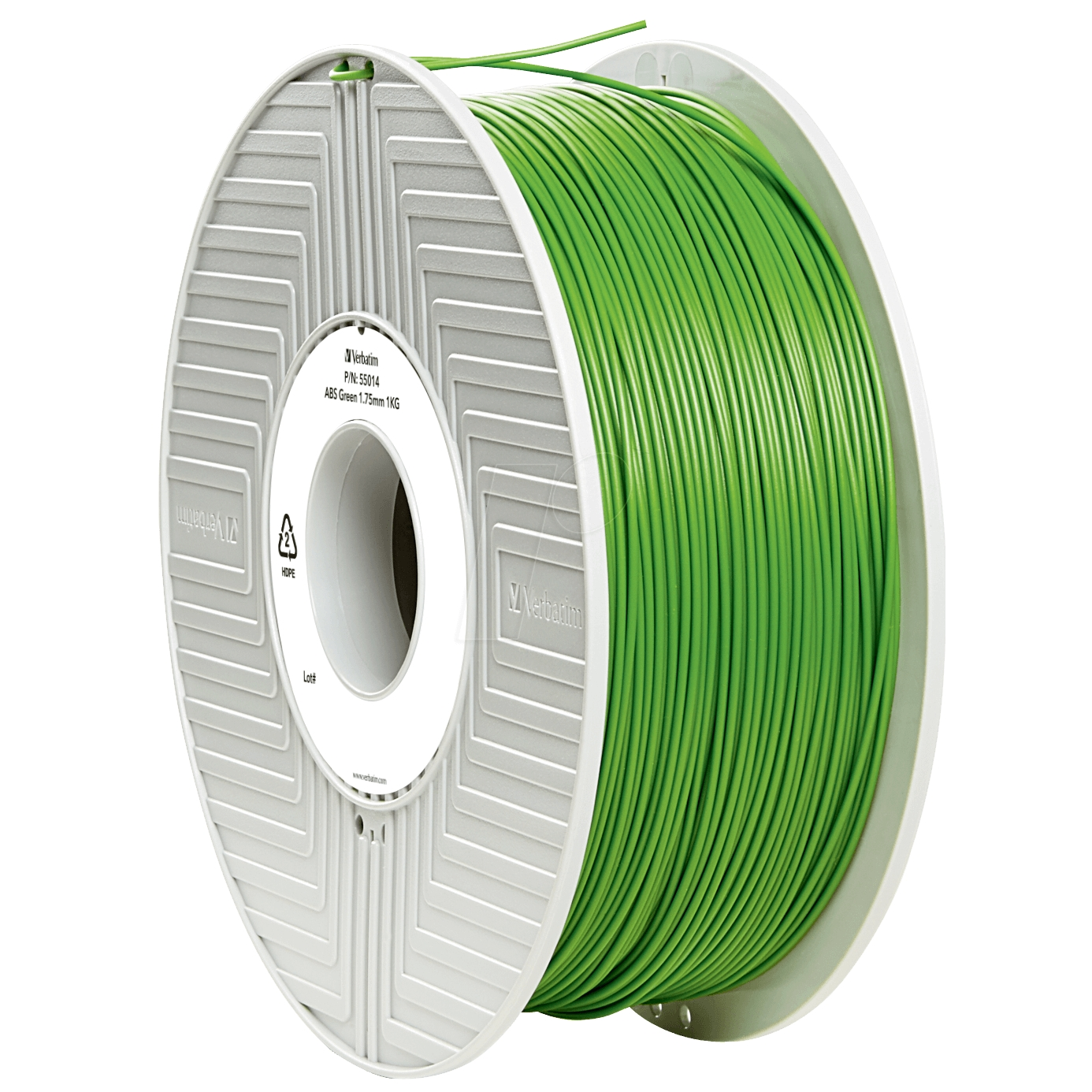 Original Verbatim Green 1.75mm 1kg ABS 3D Filament (55014)