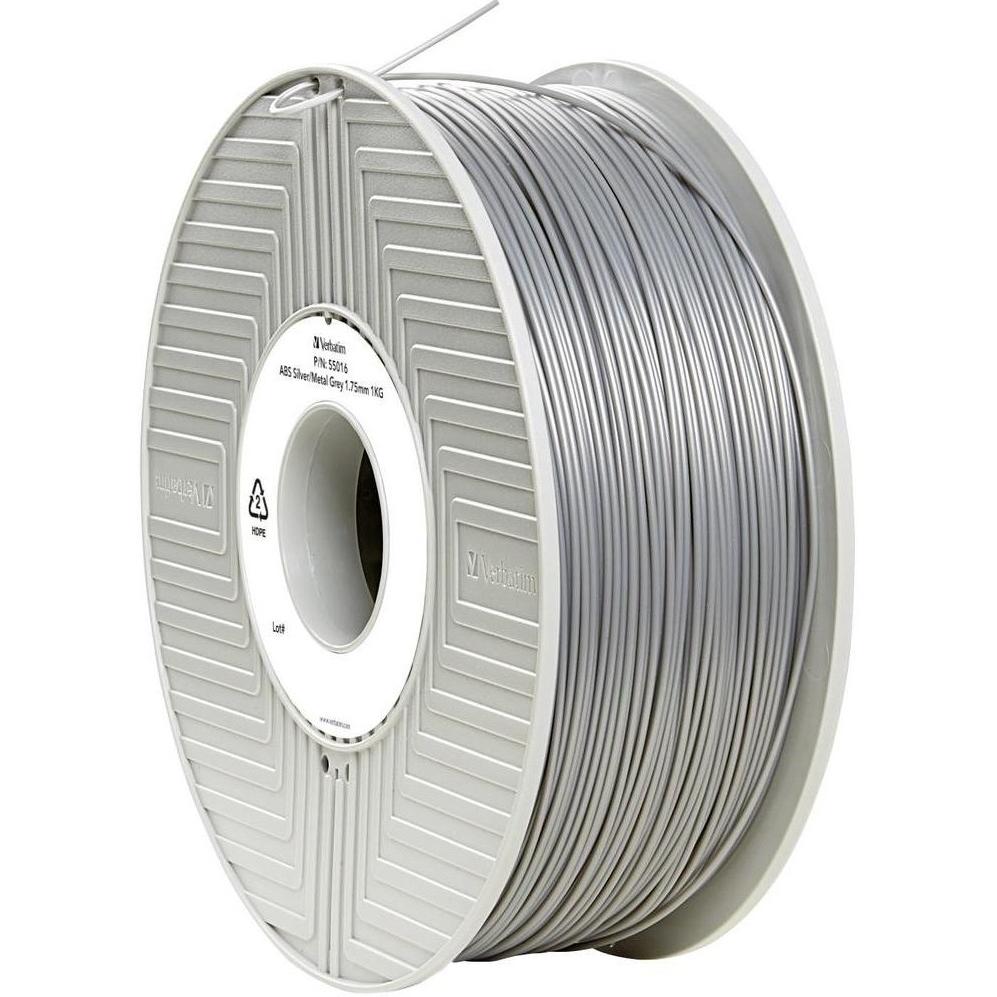 Original Verbatim Silver 1.75mm 1kg ABS 3D Filament (55016)
