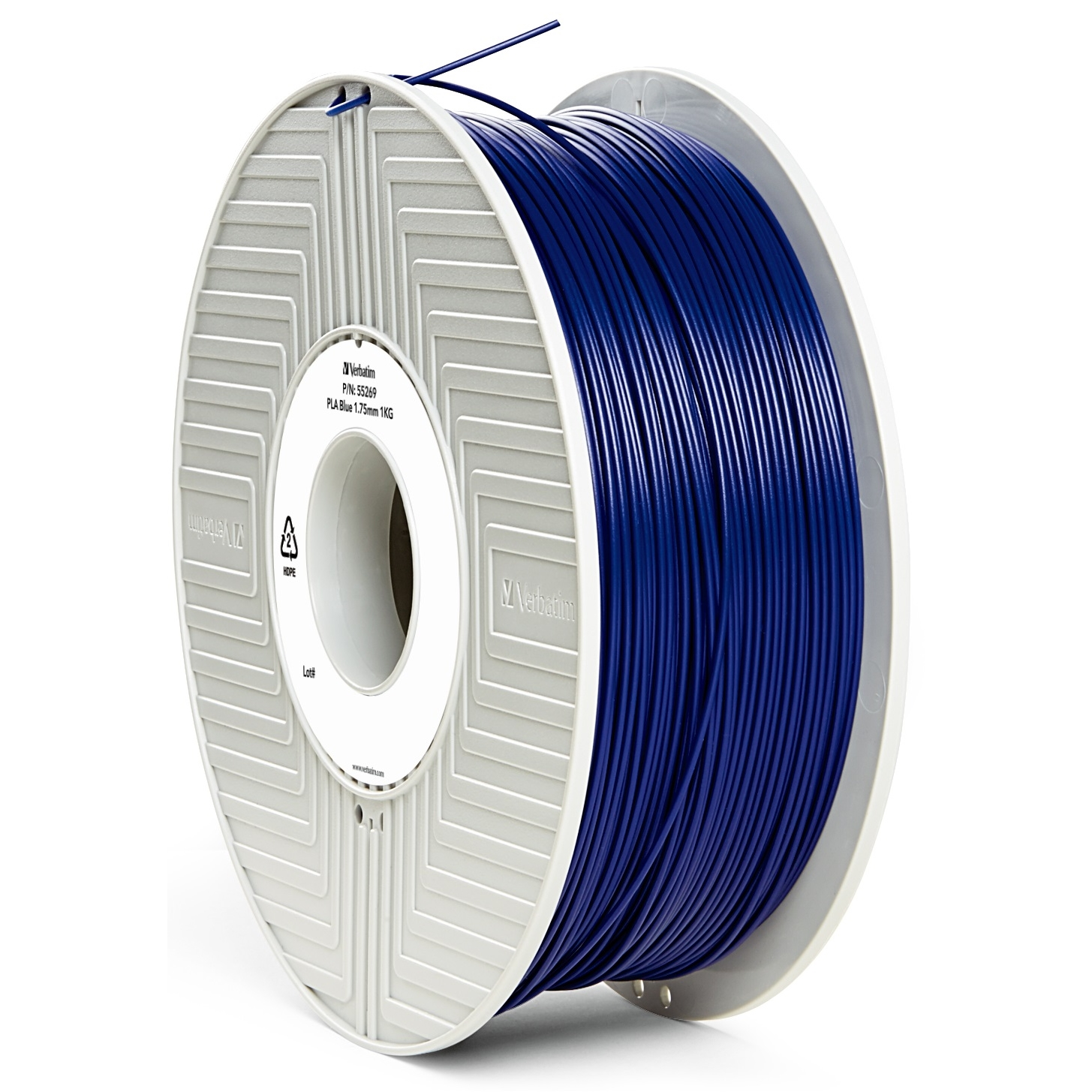 Original Verbatim Blue 1.75mm 1kg PLA 3D Filament (55269)