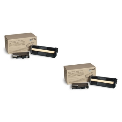 Original Xerox 106R01535 Black Twin Pack High Capacity Toner Cartridges (106R01535)