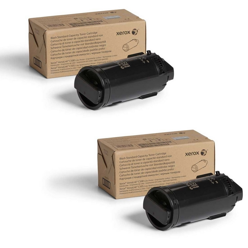 Original Xerox 106R03907 C60X Black Twin Pack High Capacity Toner Cartridges (106R03907)