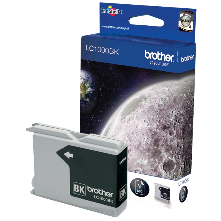 Original Brother LC1000BK Black Ink Cartridge (LC1000BK)