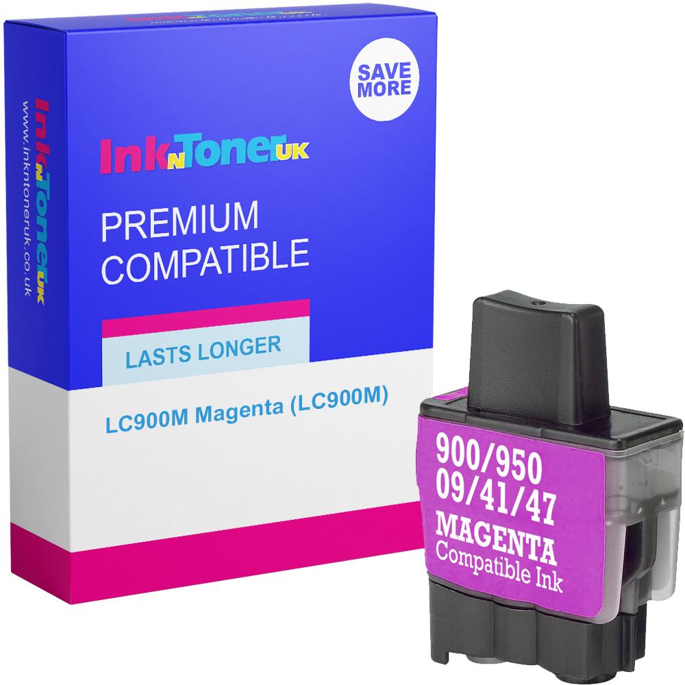 Premium Compatible Brother LC900M Magenta Ink Cartridge (LC900M)