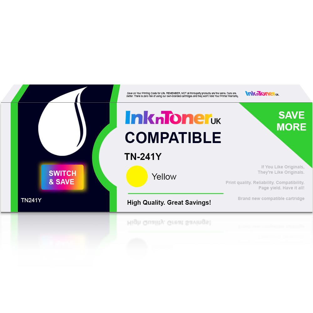 Value Compatible Brother TN-241Y Yellow Toner Cartridge (TN241Y)