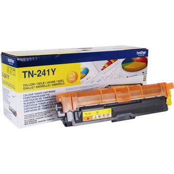 Original Brother TN-241Y Yellow Toner Cartridge (TN241Y)