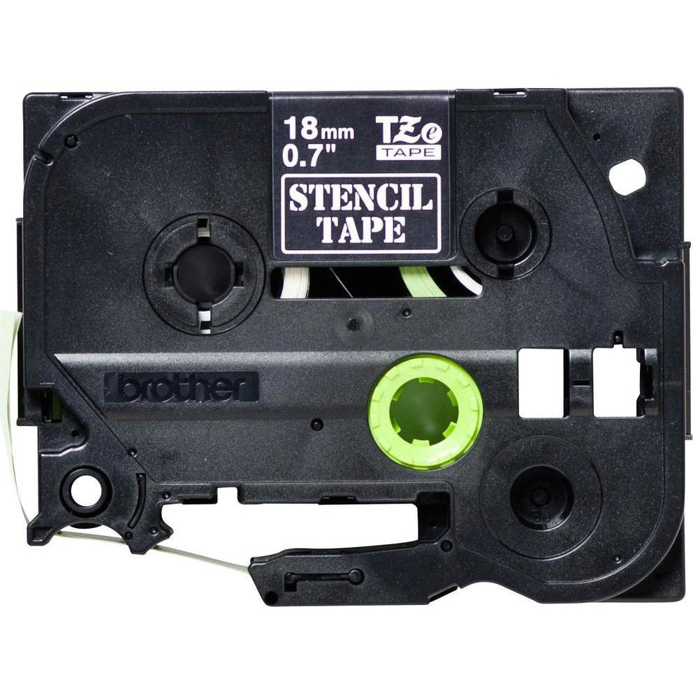 Original Brother STE-141 Black 18mm x 3m Stamp Stencil Tape (STE141)
