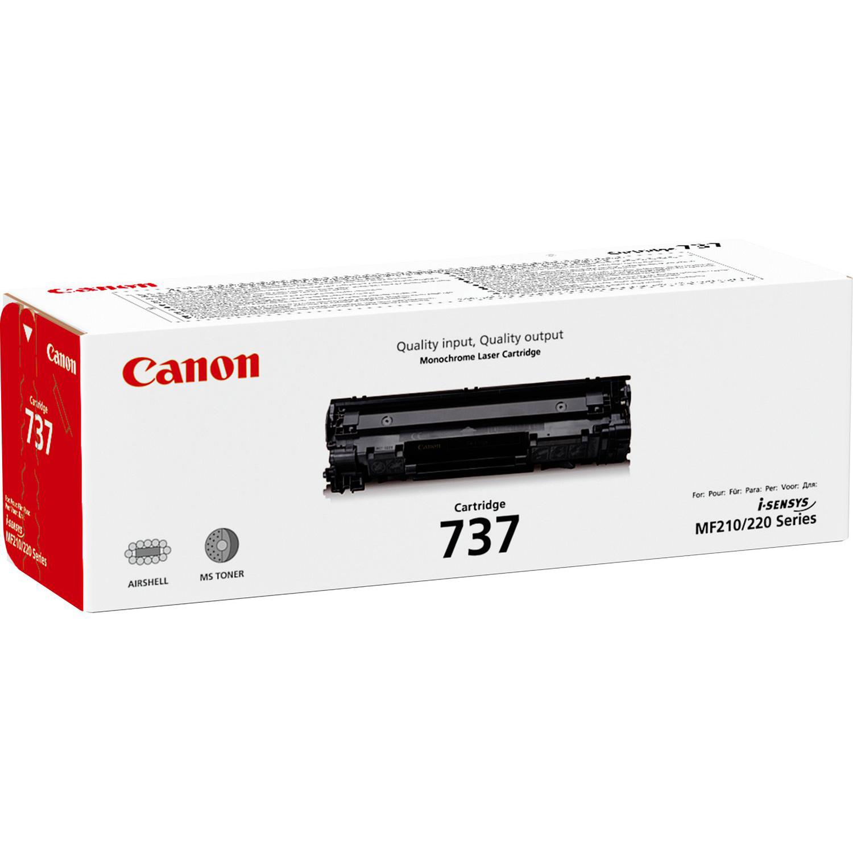 Original Canon 737 Black Toner Cartridge (9435B002)