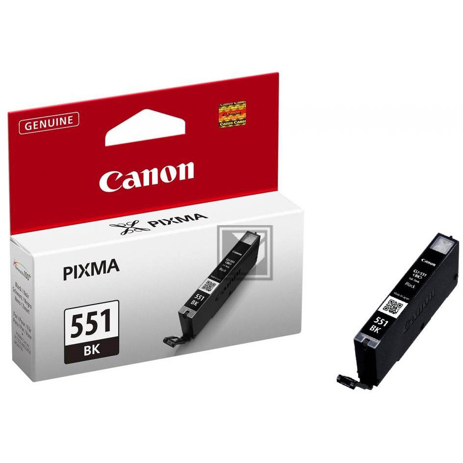 Original Canon CLI-551BK Black Ink Cartridge (6508B001)