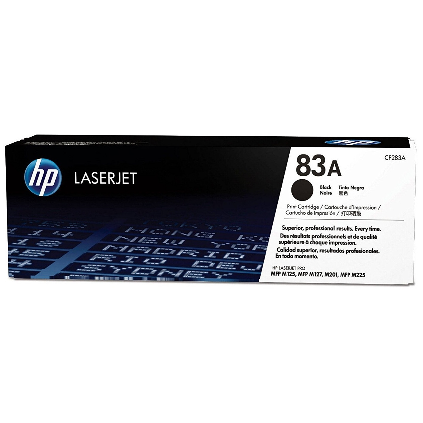 Original HP 83A Black Toner Cartridge (CF283A)
