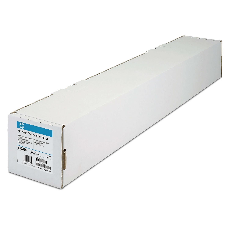 Original HP C6035A 90gsm 24in x 150ft Paper Roll (C6035A)