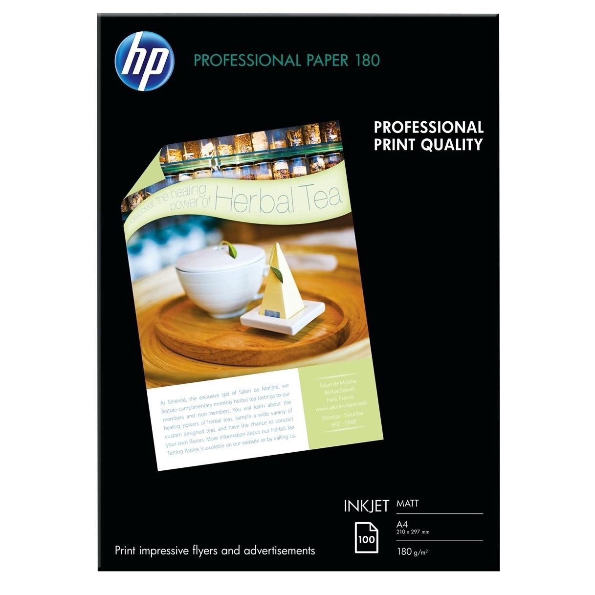 Original HP Q6592A 180gsm A4 Inkjet Paper - 100 Sheets (Q6592A)