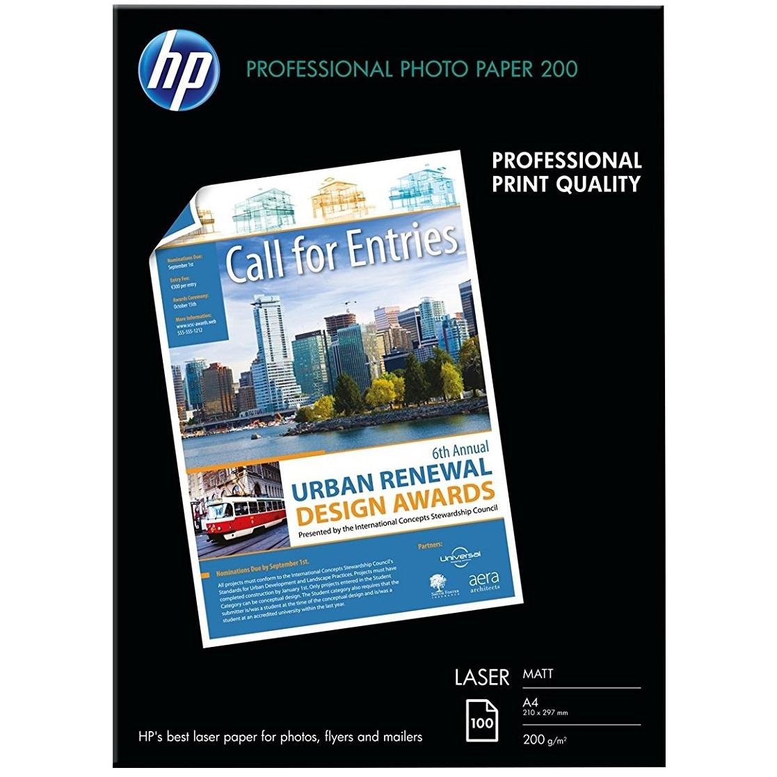 Original HP Q6550A 200gsm A4 Photo Paper - 100 Sheets (Q6550A)