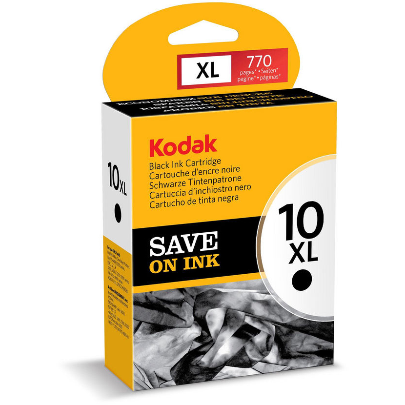 Original Kodak 10XL Black High Capacity Ink Cartridge (3949922)