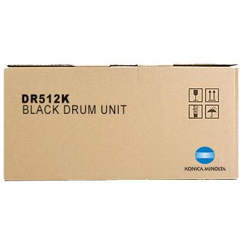 Original Konica Minolta DR512K Black Drum Unit (A2XN0RD)