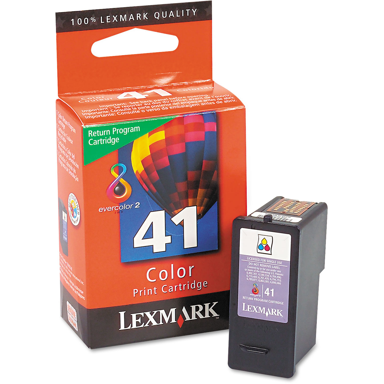 Original Lexmark 41 Colour Ink Cartridge 18Y0141E