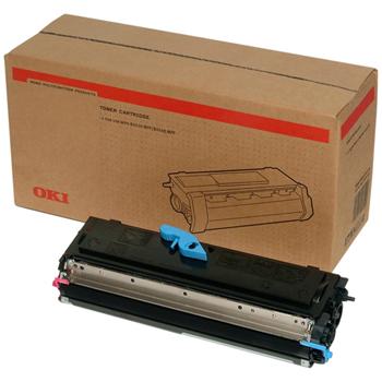 Original OKI 09004168 Black Toner Cartridge (09004168)