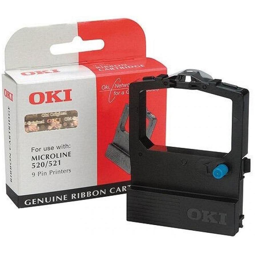 Original OKI 09002315 Black Fabric Ink Ribbon (09002315)