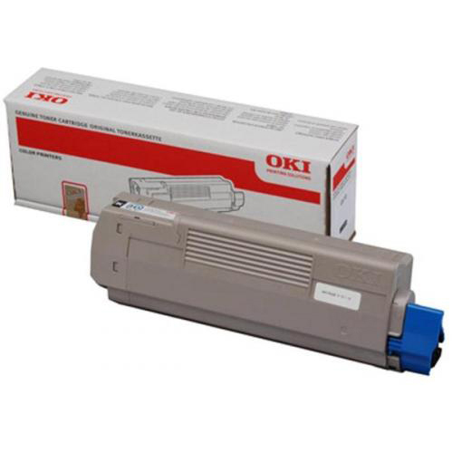 Original OKI 44059256 Black Toner Cartridge (44059256)