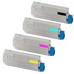 Original OKI 4484461 CMYK Multipack Toner Cartridges (44844613/ 44844614/ 44844615/ 44844616)