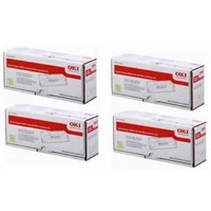 Original OKI 4553641 CMYK Multipack Toner Cartridges (45536416/ 45536415/ 45536414/ 45536413)