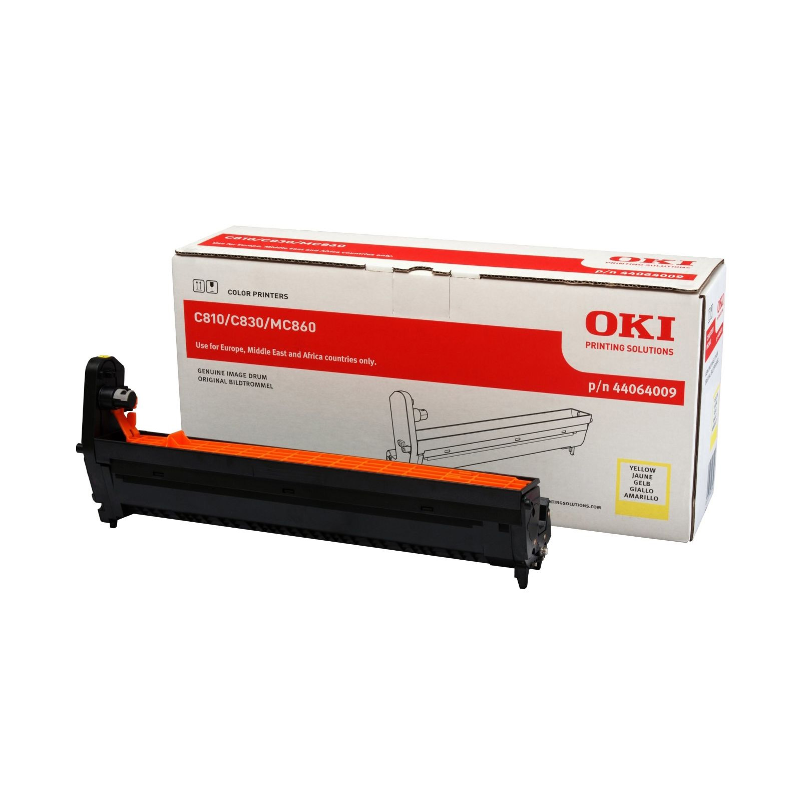 Original OKI 44064009 Yellow Image Drum Unit (44064009)