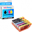 Canon PGI-550PGBKXL / CLI-551XL Multipack Set Of 5 High Capacity Ink Cartridges (PGI-550XL /CLI-551XLBK/C/M/Y)